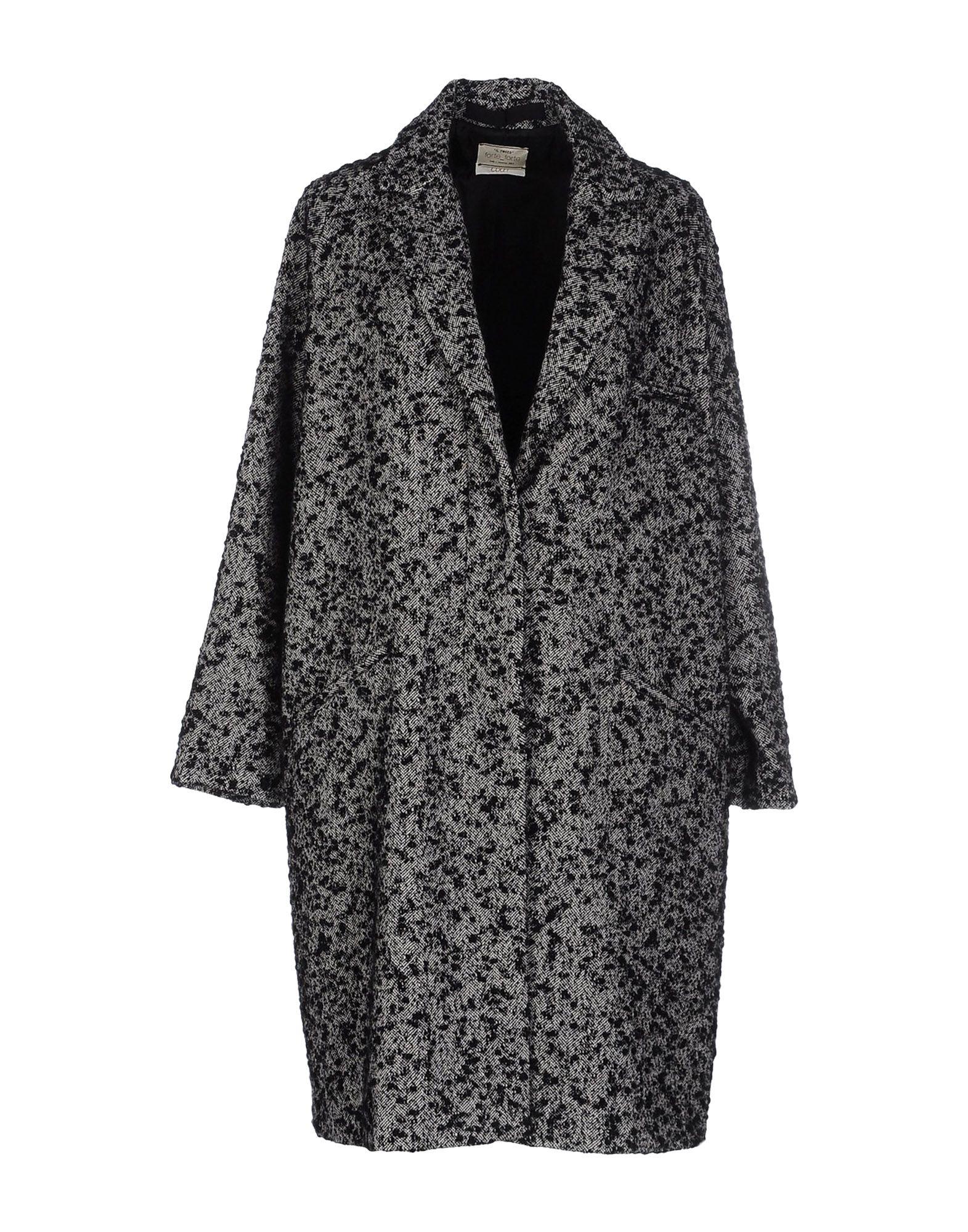 Manteau long forte_forte femme. noir. 32 - 34 -...