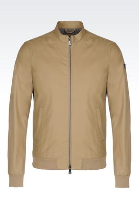Armani Mid-length jackets Men blouson in faux leather
