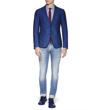 ZZEGNA: Formal Jacket Blue - 41625465OE