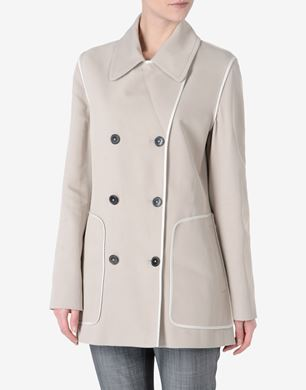 Maison Margiela Cavalry cotton peacoat
