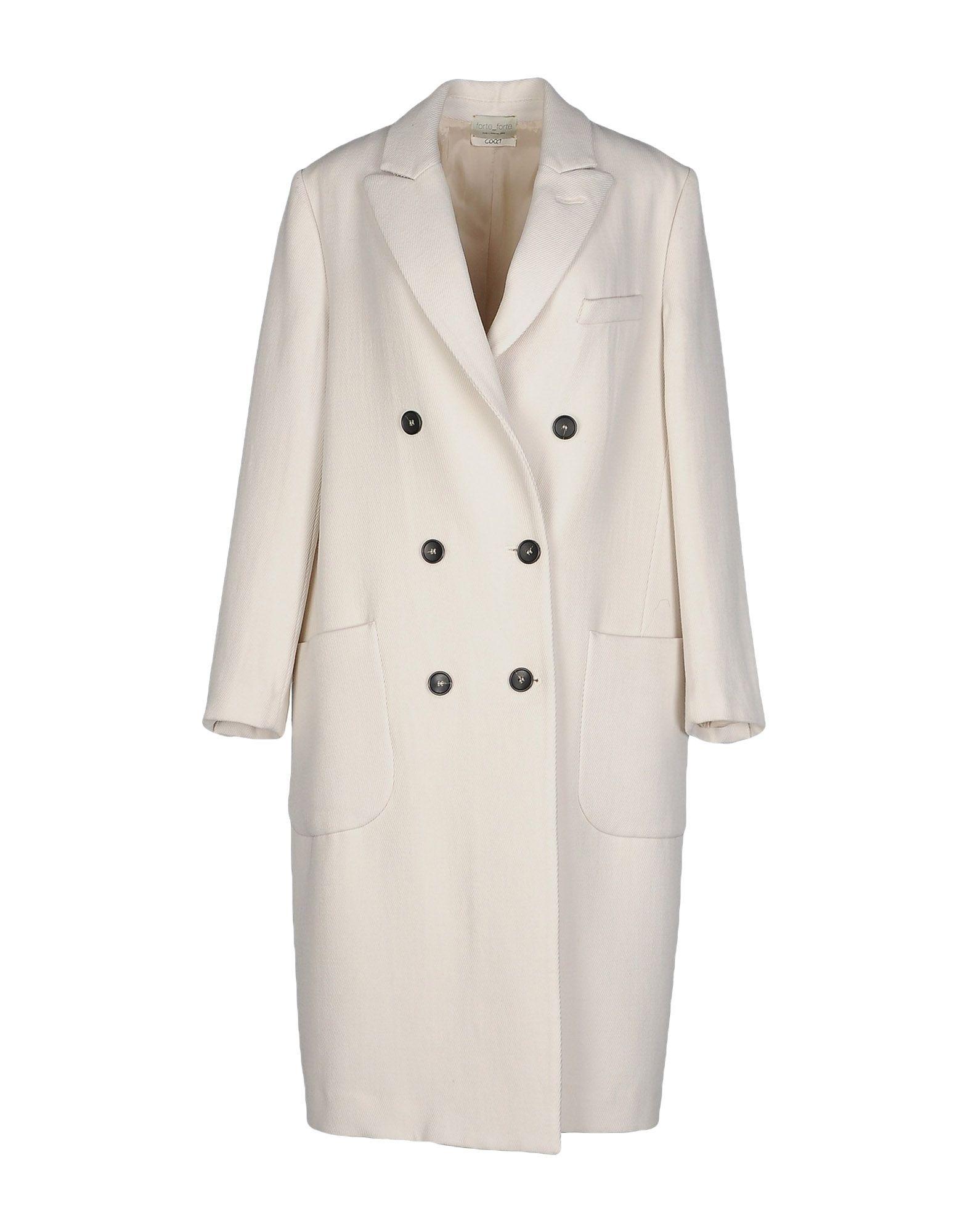 Manteau long forte_forte femme. blanc ivoire....