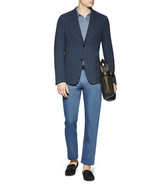 ERMENEGILDO ZEGNA: Formal Jacket Blue - 41631319HU
