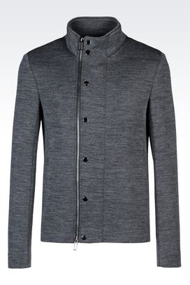 Armani Blouson jacket Men blouson in jersey