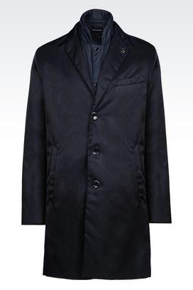 Armani Coats Men coat in technical fabric