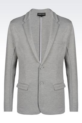 Armani Two buttons jackets Men jacket in jersey