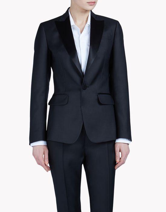tuxedo blazer coats & jackets Woman Dsquared2