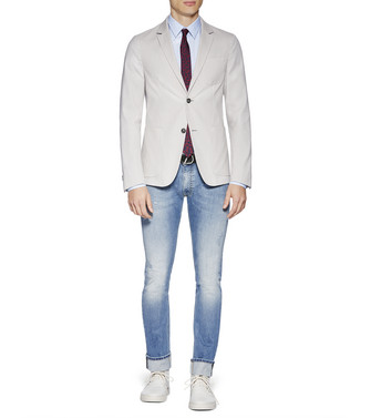 ZZEGNA: Formal Jacket Grey - 41636169DB