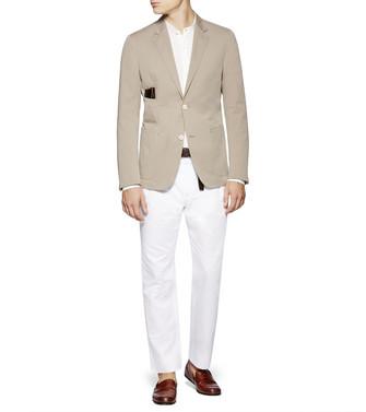 ERMENEGILDO ZEGNA: Casual Jacket Khaki - 41636191II