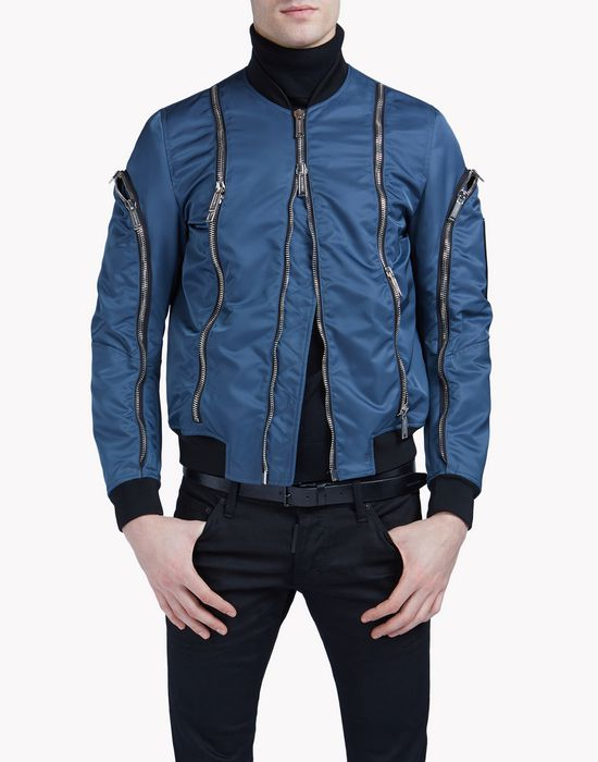 zipped bomber coats & jackets Man Dsquared2
