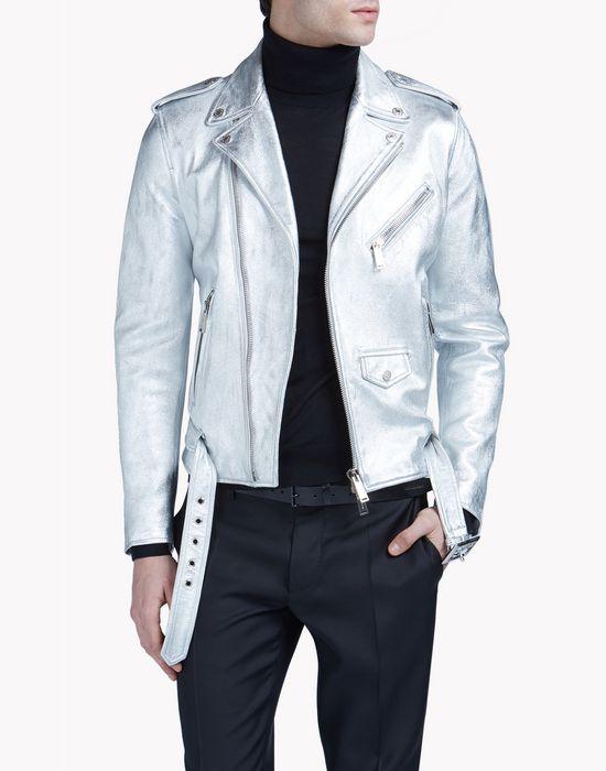 silver kiodo coats & jackets Man Dsquared2