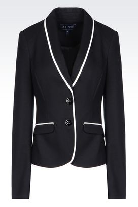Armani Two buttons jackets Women jacket in viscose blend