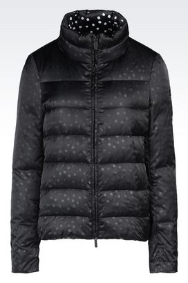Armani Down coats Women down jacket in printed nylon