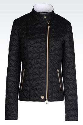 Armani Bomber jackets Women down jacket in nylon