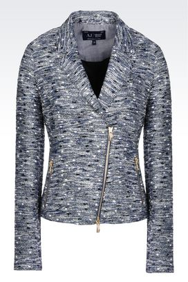 Armani Dinner jackets Women slim fit lurex jacket