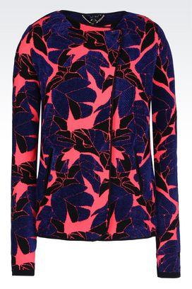 Armani Dinner jackets Women jacket in jacquard