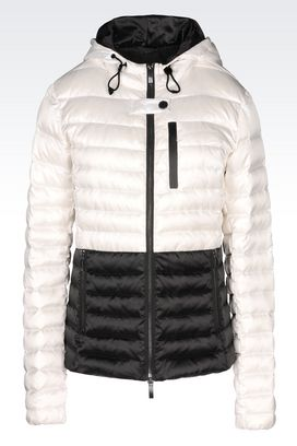Armani Down coats Women down jacket in technical fabric