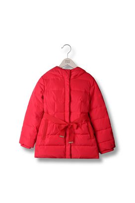 Armani Down jackets Women long down jacket in taffeta nylon