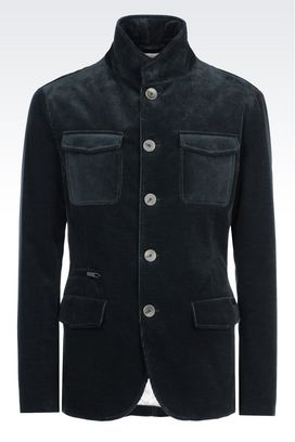Armani Dust jackets Men jacket in needlecord