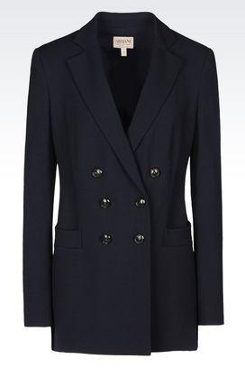 Armani Double-breasted jackets Women jackets