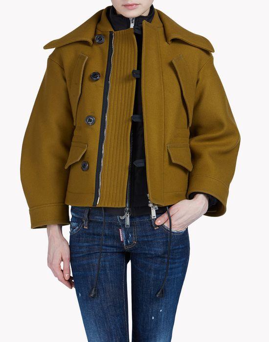 seiko puff kaban coats & jackets Woman Dsquared2