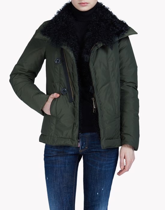 hikaro puff kaban coats & jackets Woman Dsquared2