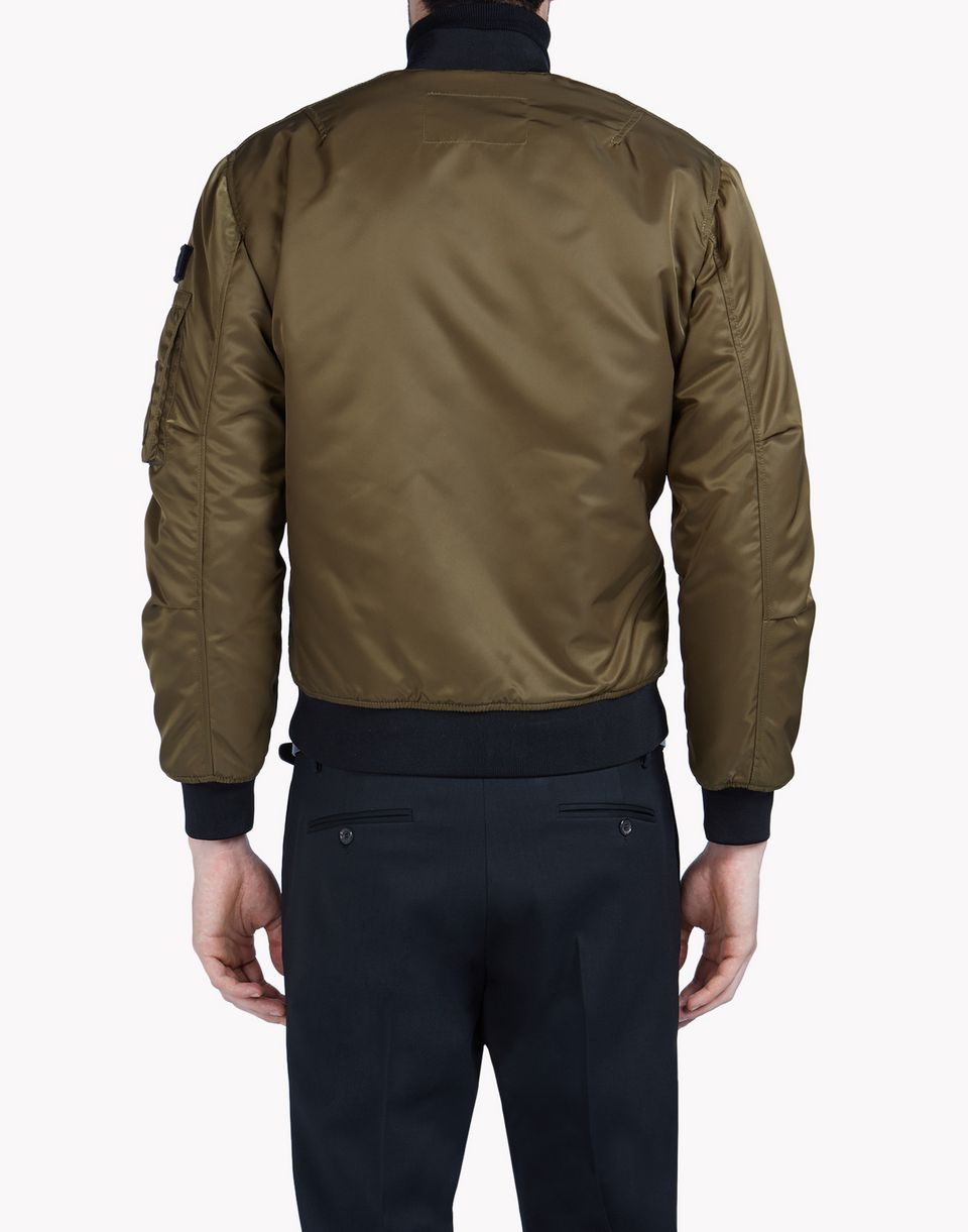 Leather sweater jacket for men