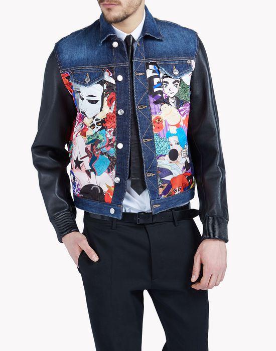 manga mixed bomber coats & jackets Man Dsquared2