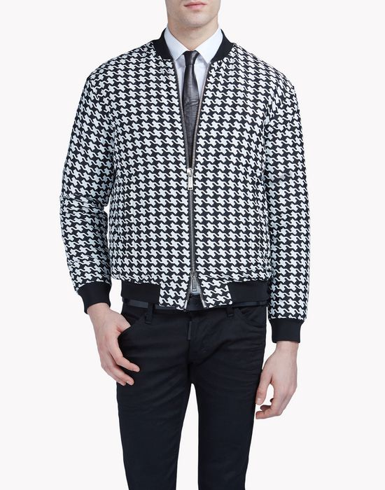 medium babewire bomber coats & jackets Man Dsquared2