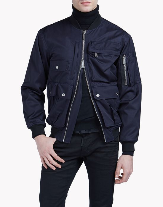 multipocket bomber coats & jackets Man Dsquared2