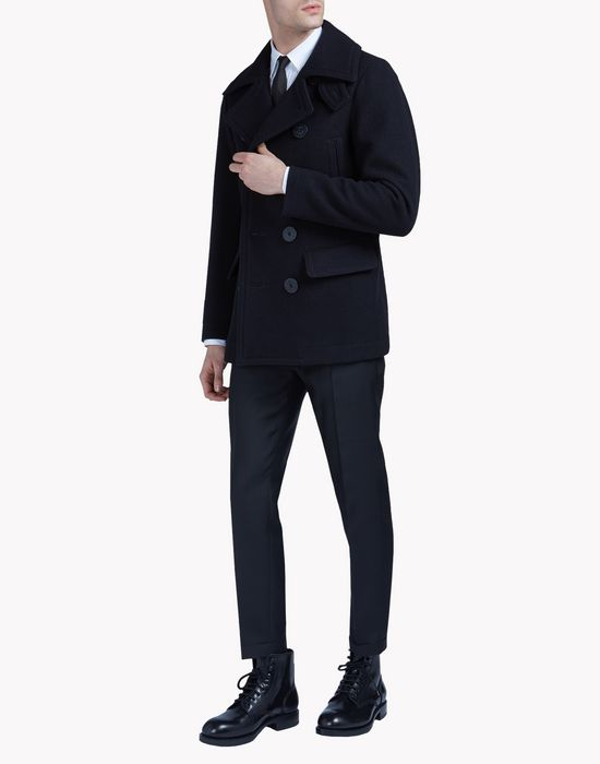 classic peacoat coats & jackets Man Dsquared2
