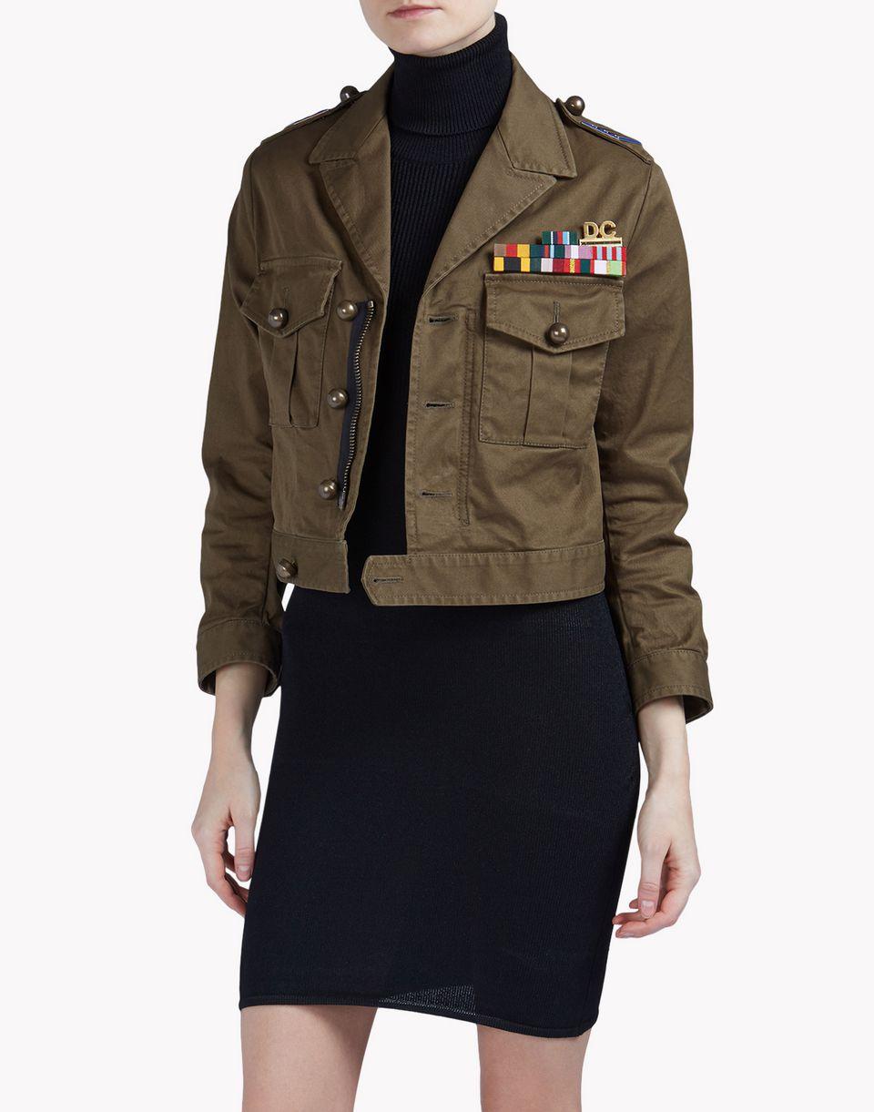 golden arrow kaban coats & jackets Woman Dsquared2