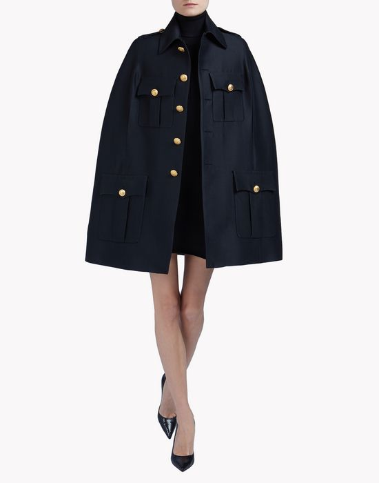 chest candy cape coats & jackets Woman Dsquared2