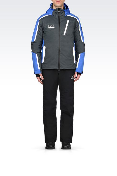 TECHNICAL SKI JACKET WITH TOYOTA GELANOTS® TECHNOLOGY: Outerwear Men by Armani - 2