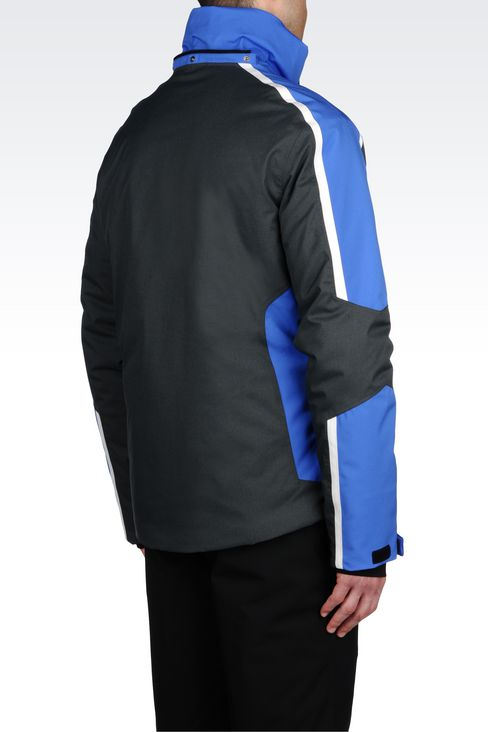 TECHNICAL SKI JACKET WITH TOYOTA GELANOTS® TECHNOLOGY: Outerwear Men by Armani - 4