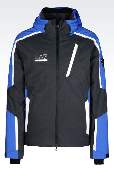 TECHNICAL SKI JACKET WITH TOYOTA GELANOTS® TECHNOLOGY: Outerwear Men by Armani - 1