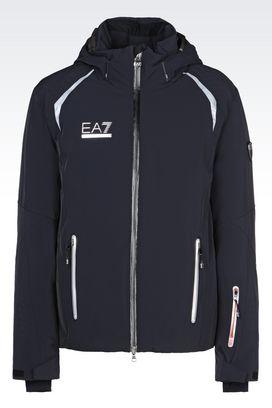 Armani Outerwear Men technical ski jacket with dermizax® technology
