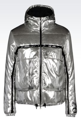 Armani Outerwear Men runway technical ski jacket