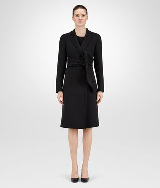 COAT IN NERO DOUBLE CASHMERE