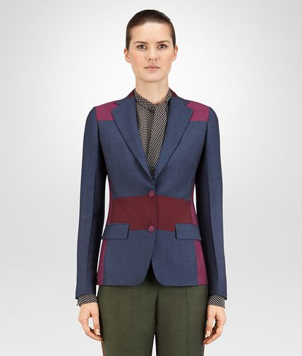 JACKET IN PACIFIC BAROLO PEONY WOOL MOHAIR
