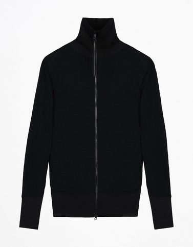 Y-3 DBL JSY ZIP TOP SWEAT SHIRTS man Y-3 adidas