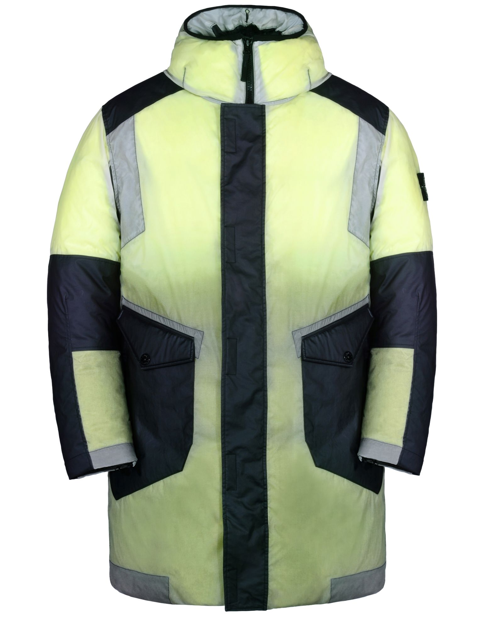 STONE ISLAND Mittellange Jacke 70999 ICE JACKET RESIN-T SHELL DOWN