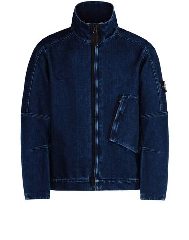 STONE ISLAND Denim outerwear Q0634 POLYPROPYLENE DENIM