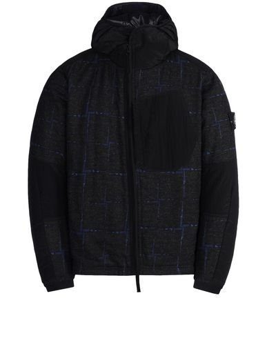 STONE ISLAND Jacket 455J5 STONE ISLAND HOUSE CHECK BY DORMEUIL/NYLON METAL WITH PRIMALOFT® INSULATION TECHNOLOGY