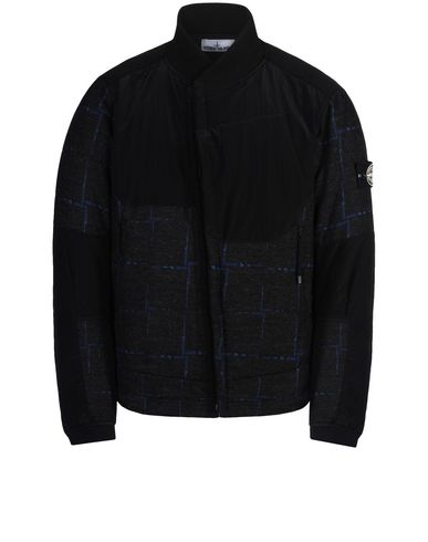 STONE ISLAND Jacket 456J5 STONE ISLAND HOUSE CHECK BY DORMEUIL/NYLON METAL WITH PRIMALOFT® INSULATION TECHNOLOGY