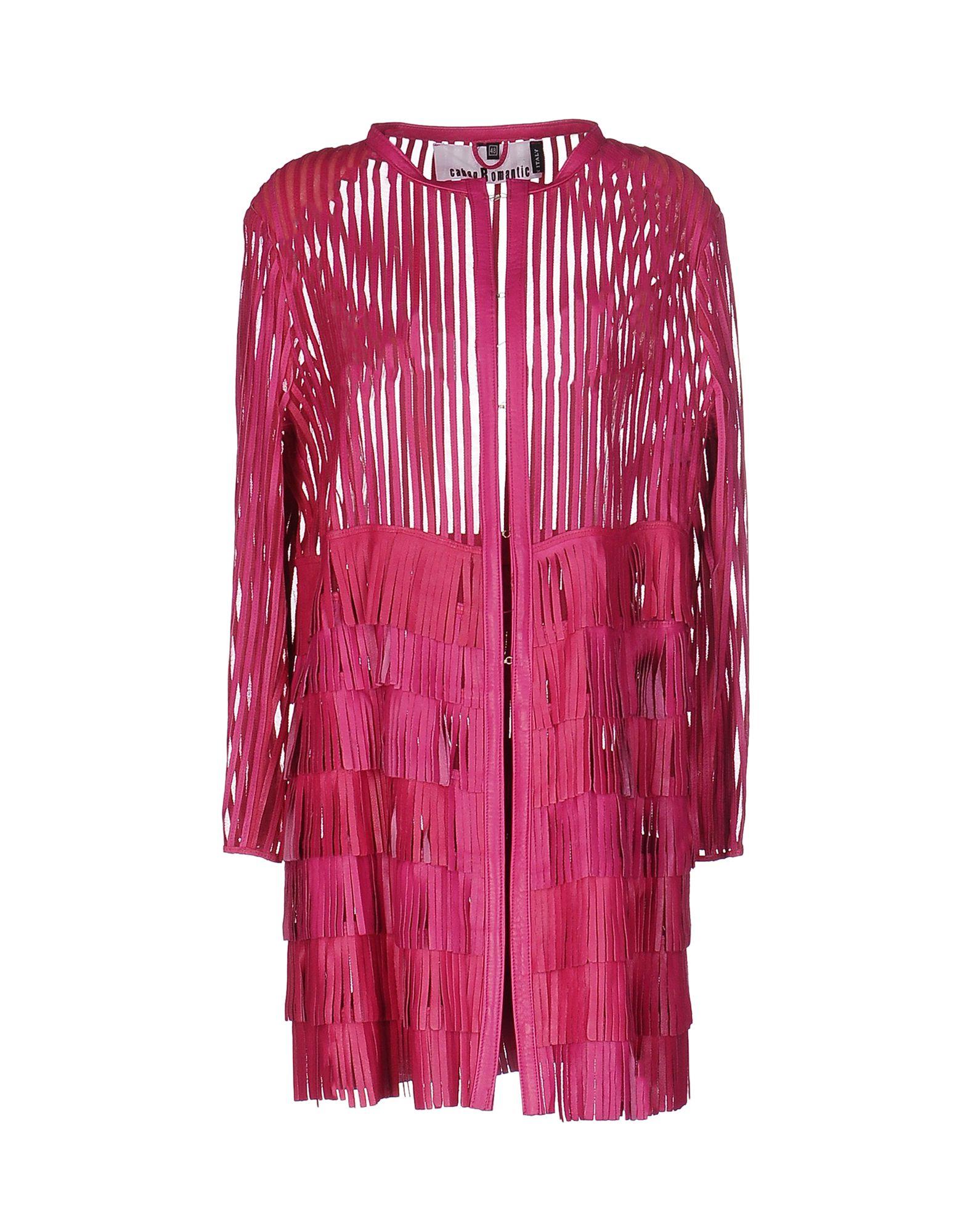 CABAN ROMANTIC Damen Lange Jacke Farbe Fuchsia Größe 7