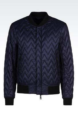 Armani Blouson Men blouson in technical fabric