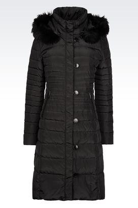 Armani Down coats Women outerwear