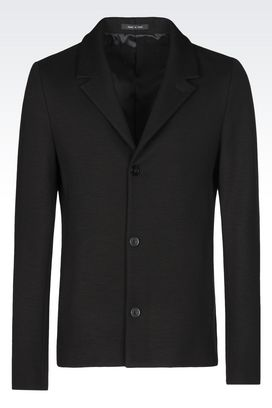 Armani Three buttons jackets Men knit jacket
