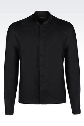 Armani Vestes Homme veste en flanelle peignée