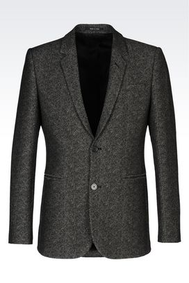 Armani Two buttons jackets Men jacket in jacquard